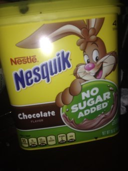 Nesquik Chocolate Powder, No Sugar Added, 16-Ounce Unit (Pack Of 6) uploaded by Darlenny F.