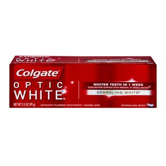 Colgate Optic White Anticavity Fluoride Toothpaste Cool Mint uploaded by Adriana C.