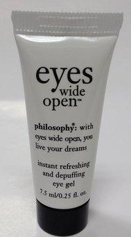 philosophy eyes wide open eye gel uploaded by Tabina N.