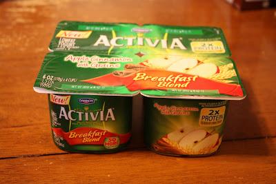 Activia Breakfast Blend Lowfat Yogurt Apple Cinnamon with Grains - 4 CT uploaded by IMAN E.