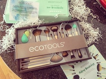 Ecotools Makeup Brushes  uploaded by Marybeth N.