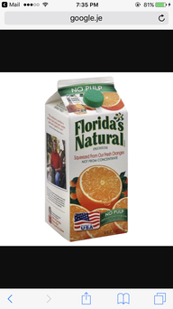 Florida's Natural Premium Orange Juice (No Pulp) uploaded by Keyla R.