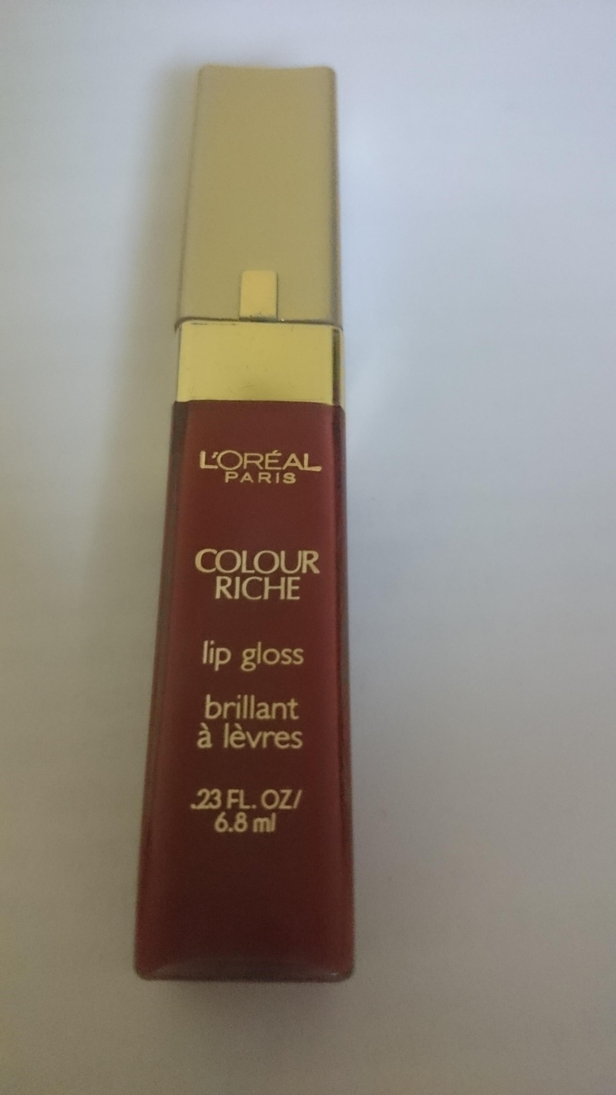 L'Oréal Paris Colour Riche Lip Gloss uploaded by Kiran S.