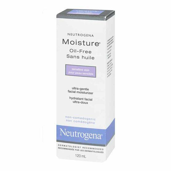 Neutrogena Moisture Oil-Free, For Sensitive Skin, 120 mL uploaded by Van E.