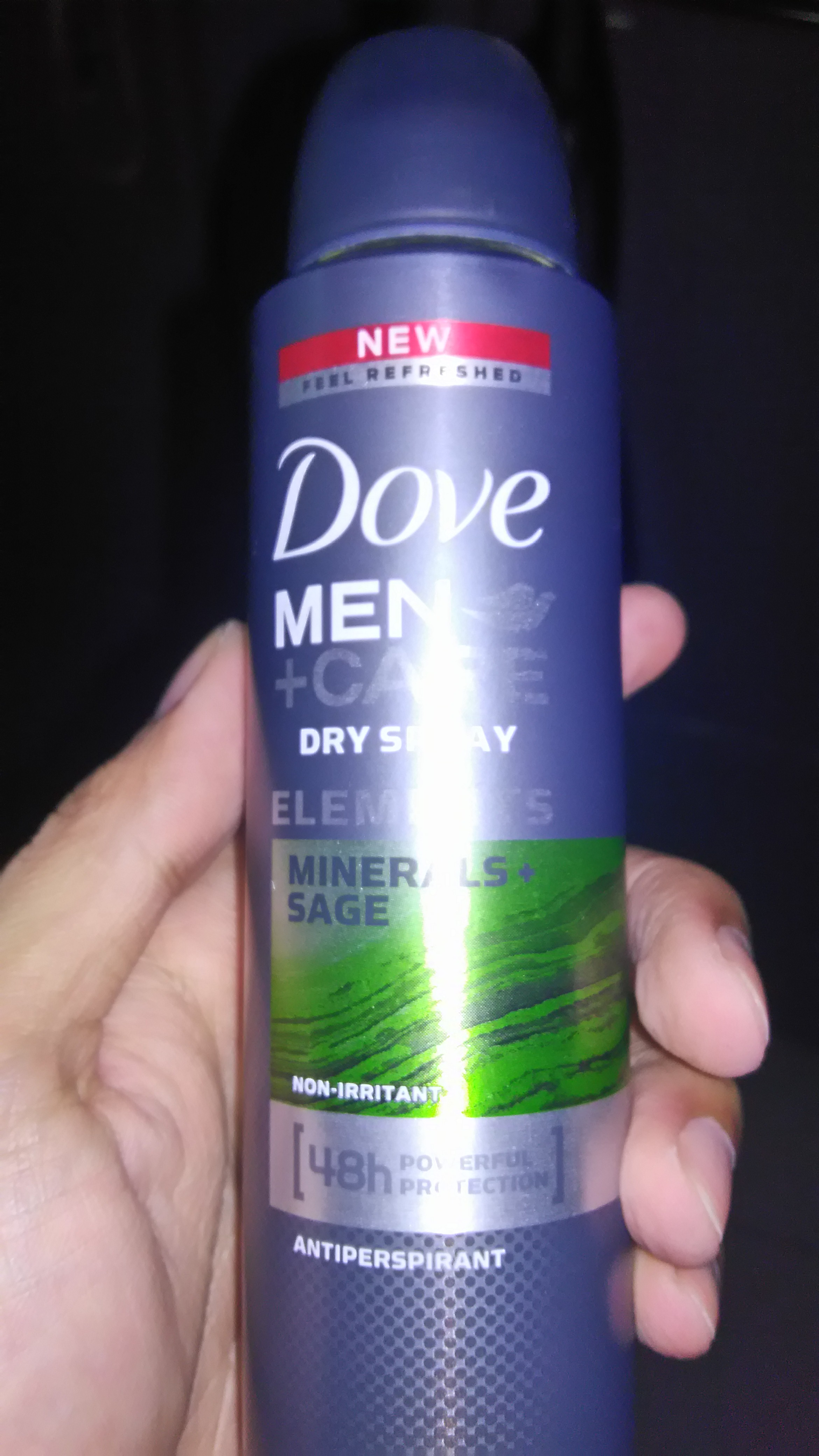 Dove Men+Care Elements Minerals and Sage Antiperspirant uploaded by Jade T.