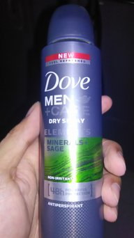Dove Men+Care Elements Minerals and Sage Antiperspirant uploaded by Jade T.