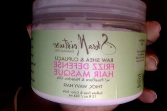 SheaMoisture Raw Shea & Cupuaçu Frizz Defense Hair Masque uploaded by Noushky F.