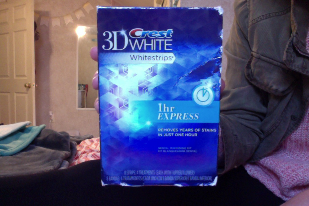 Photo of Crest 3D White Whitestrips 1-hour Express Teeth Whitening Kit uploaded by Tori Y.