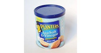 Planters Sea Salt & Vinegar Peanuts 6 oz. Canister uploaded by Lynda B.