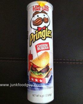 Pringles® Cheeseburger uploaded by Dusty K.