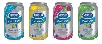 Nestlé Pure Life Sparkling Purified Water Lime uploaded by Naixilef R.