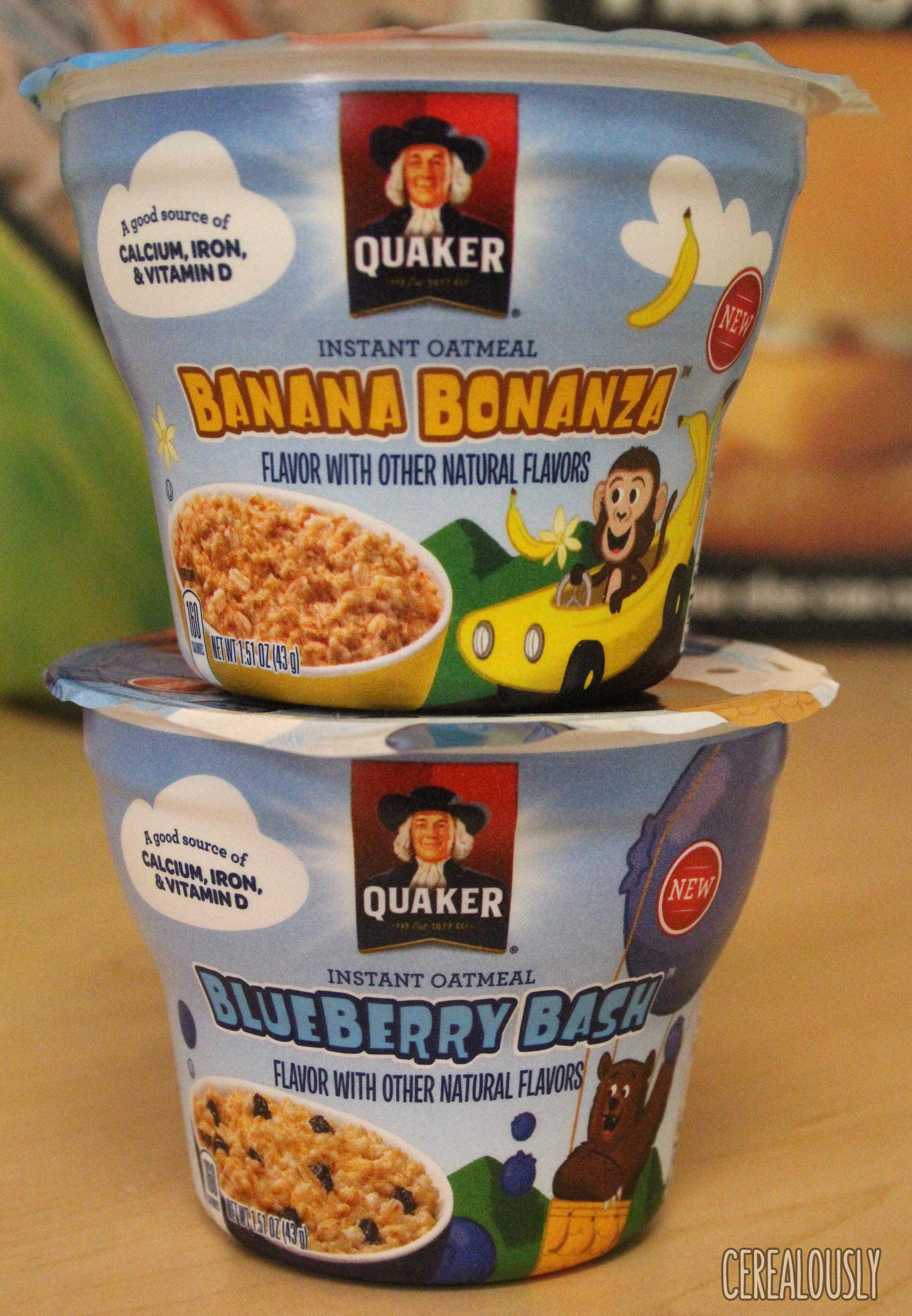 Quaker Life® Banana Bonanza  Instant Oatmeal uploaded by alondra a.
