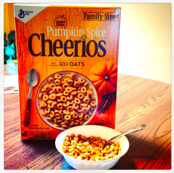 Photo of Cheerios Pumpkin Spice Cereal uploaded by Jordan G.