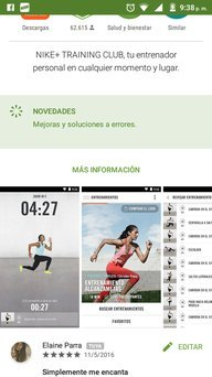Nike Training Club App uploaded by Elaine Teresa P.