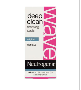 Photo of Neutrogena® Wave Deep Clean Foaming Pads Refills uploaded by Becky L.