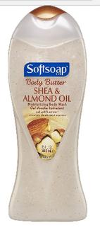 Softsoap® Body Butter Shea & Almond Oil Moisturizing Body Wash uploaded by Kerrie W.