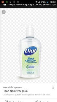 Dial Unscented Hand Sanitizer uploaded by Anneliesse
