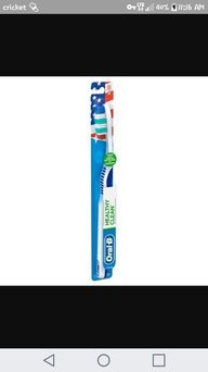 Healthy Clean Oral-B Healthy Clean Medium Toothbrush 1 Count uploaded by Demetris D.