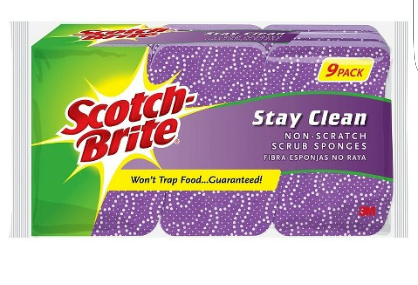 Scotch-Brite Cleaning Sponges SCOTCH-BRITE Multicolor uploaded by Nane F.