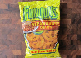 Funyuns® Steakhouse Onion Onion Flavored Rings uploaded by Andressa C.