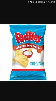 Photo of Ruffles® Potato Chips Original uploaded by Lupe G.