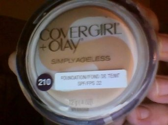 COVERGIRL Olay Simply Ageless Instant Wrinkle Defying Foundation uploaded by Skinny B.