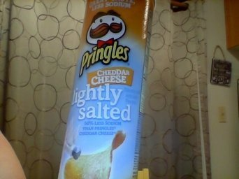 Photo of Pringles® Cheddar Cheese Lightly Salted Potato Crisps 5.95 oz. Canister uploaded by Sherri C.
