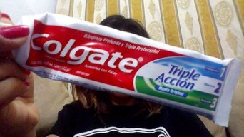 Photo of Colgate Triple Action Toothpaste uploaded by Vanessa C.