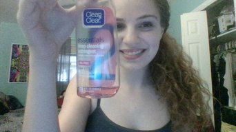 Clean & Clear Essentials Deep Cleaning Astringent uploaded by Lillyrose V.