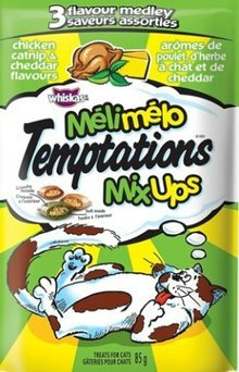 Temptations Tumblers Treats For Cats Catnip & Chicken Flavors uploaded by Meganlee H.