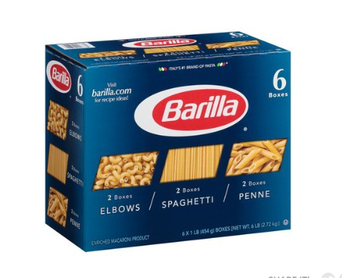 Barilla® Elbows/Spaghetti/Penne Pasta 6-1 lb. Boxes uploaded by deborah c.