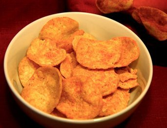popchips Barbeque Potato Popped Chips uploaded by khadeeja l.