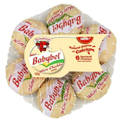 The Laughing Cow Mini Babybel® White Cheddar Cheeses - 6 CT uploaded by Christine B.