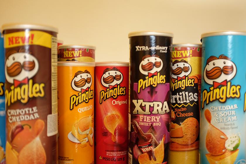 Pringles® Cheddar BBQ Potato Crisps uploaded by Marcus S.