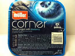 Muller® Greek Corner Blueberry Lowfat Yogurt uploaded by Maria P.