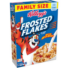Kellogg's Frosted Flakes Reduced Sugar Cereal uploaded by francesca r.