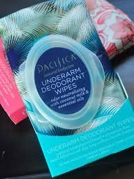 Photo of Pacifica Underarm Deodorant Wipe with Coconut Milk & Kale Extract uploaded by Valentina M.