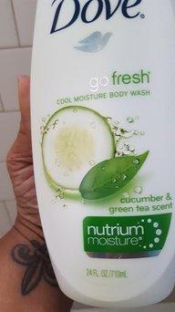 Dove Go Fresh Cool Moisture Cucumber & Green Tea Body Wash uploaded by Janis C.