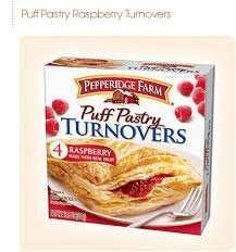 Pepperidge Farm Puff Pastry Turnovers Raspberry - 4 CT uploaded by La-Keysa H.