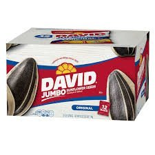 David Jumbo Sunflower Seeds (5.25 oz, 12 ct.) uploaded by CONSTANCE C.