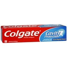 Colgate Cavity Protection Fluoride Toothpaste, Great Regular Flavor, Travel Size, TSA Aproved, 1.3 Ounces (Pack of 12) uploaded by Alexandra C.