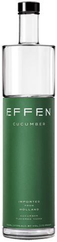 Effen Vodka Cucumber  uploaded by Melissa S.