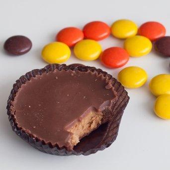 Hershey Reese's Dark Chocolate Miniature Peanut Butter Cups 12 oz uploaded by Edileisy P.