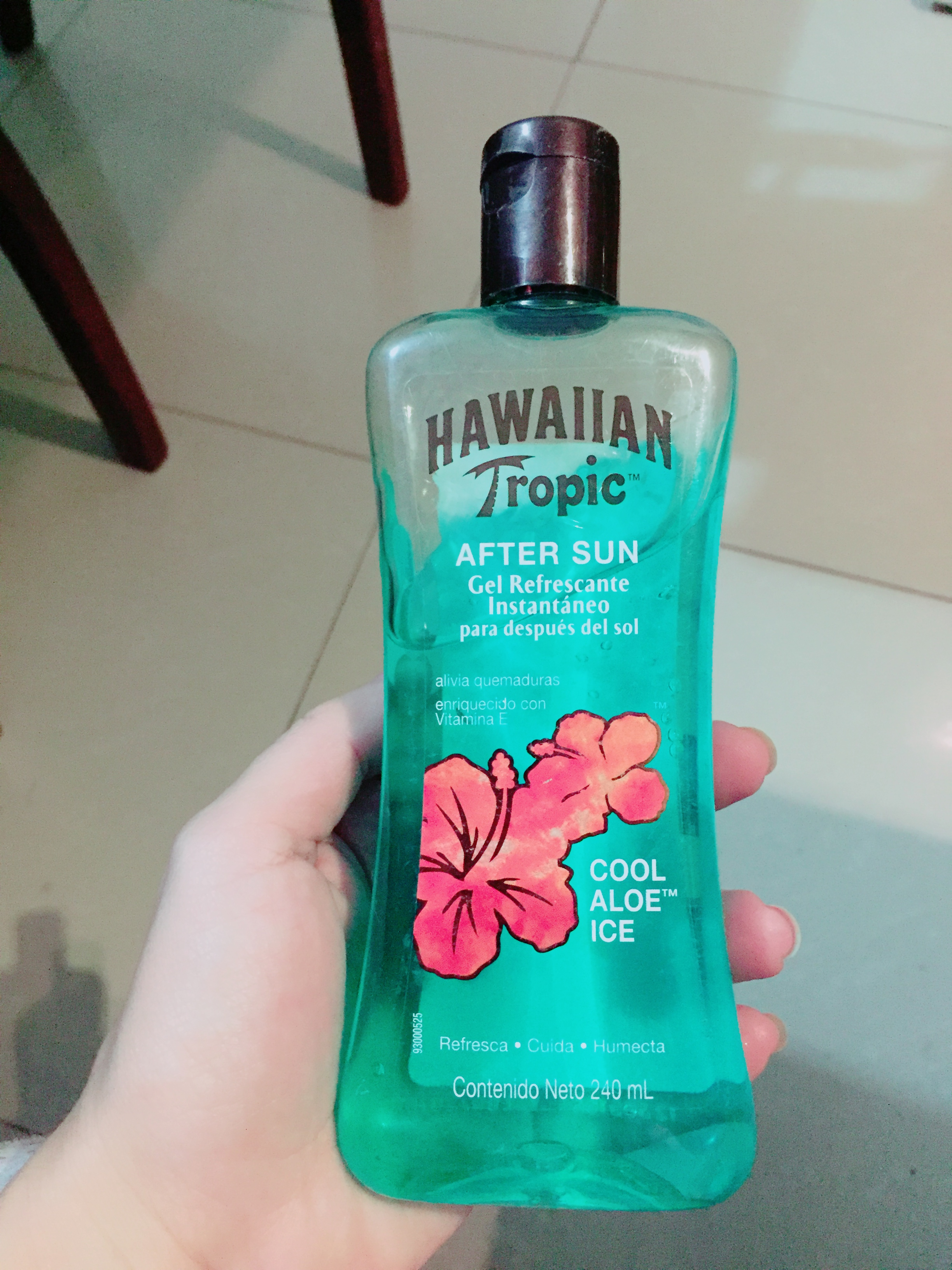 Hawaiian Tropic® After Sun Moisturizer Cool Aloe Gel uploaded by Irina G.