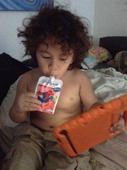 Chobani KIDS® Grape And Strawberry Low-fat Yogurt Pouches uploaded by Keoammara C.