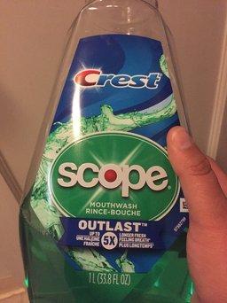 Scope Outlast Mouthwash, Long Lasting Mint, 16.9 fl oz uploaded by Bobbi P.