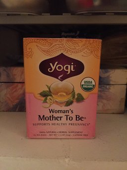 Yogi Tea Woman's Mother To Be uploaded by Casey P.