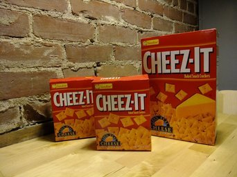 Cheez-It® Original Baked Snack Crackers uploaded by Tiffany E.