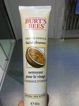 Burt's Bees Orange Essence Facial Cleanser uploaded by Maddie B.
