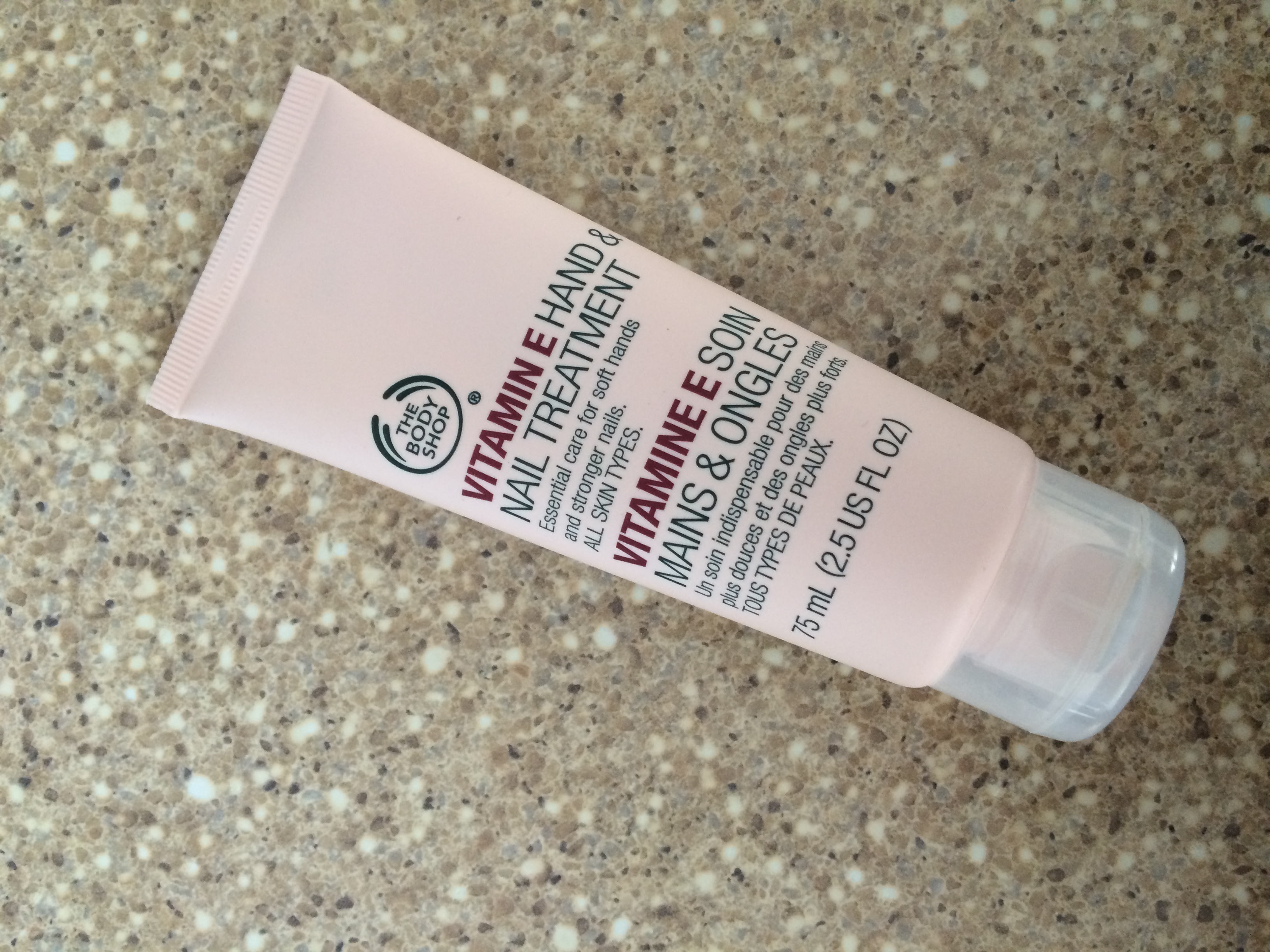 THE BODY SHOP® Vitamin E Hand & Nail Treatment uploaded by Marrion G.